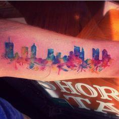 Skyline tat