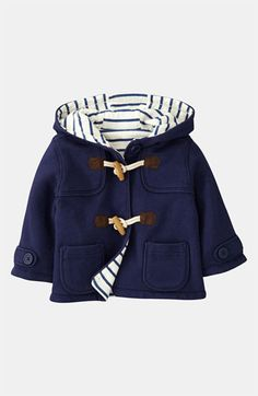 Mini Boden Duffle Coat (Infant) | Nordstrom