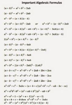 Maths Algebra Formulas, Math Vocabulary, Algebra 2, All Physics Formulas, Ap Calculus, Algebra Worksheets, Math Equations, Les Mathes, Math Formula Chart