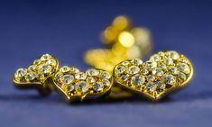 Ilvesmäen Rouva: Kolme sydäntä Diamond Earrings, Brooch, Lady, Jewelry, Jewlery, Jewerly, Brooches, Schmuck, Jewels