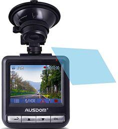 2 Stück HARTBESCHICHTETE KRISTALLKLARE Displayschutzfolie für Ausdom AD282 AutoKamera Dash Cam Bildschirmschutzfolie - http://uhr.haus/4protec/ausdom-ad282-autokamera-dash-cam-samsung-galaxy-a