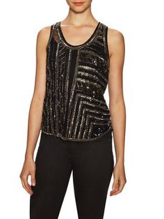 Perlina Tank Top from Big Night Out Feat. Dress The Population on Gilt