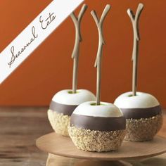 Triple Dipped S'Mores Apples recipe