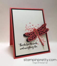 stampin-up-dragonfly-dreams-love-friendship-card-ideas-mary-fish-stampinup - Crafting Practice Card Making Inspiration, Making Ideas, Mary Fish, Stampin Pretty, Bee Cards, Friendship Cards, Stamping Up Cards, Butterfly Cards, Pretty Cards