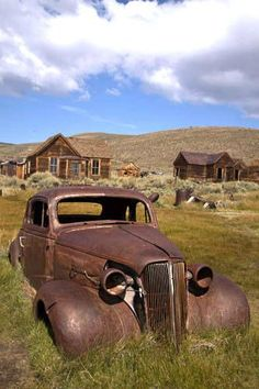 Bodie, CA ~ Abandoned Car