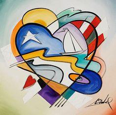 Alfred Gockel 1952 | German Abstract painter | TuttArt@ | Pittura * Scultura * Poesia * Musica |