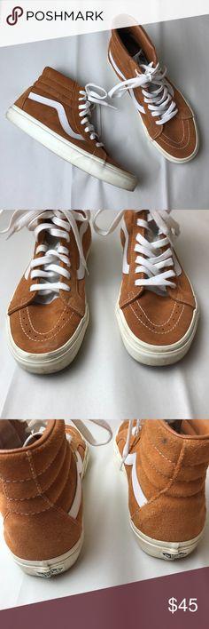 7c35db63cf1a Vans Sk8-Hi (Burgundy Red Suede) Red Burgundy Suede Sk8-Hi Vans Size 9.5  like new  only worn a couple times Vans Shoes Sneakers