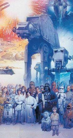La familia de Star Wars Durante cinco décadas Star Wars nos ha llenado de emociones con sus ocho películas estrenadas hasta la fecha, además de las incontables historias del Universo expandido y las...