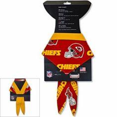 Kansas City Chiefs Pet Bandana