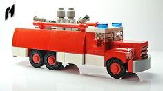 The Fire Truck Tatra 148 (MOC) | youtu.be/v8-nQqJHAUg | František Hajdekr | Flickr