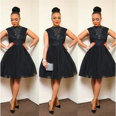 Black High Neck Elegant Cheap Short Cocktail Party Graduation Homecoming Dress, The short sleeve sparkly cocktail homecoming dresses are fully lined, 8 bones in the bodice, chest pad in the bust African Attire, African Dress, African Style, African Fashion Ankara, Ankara Dress, Casual Chique, Look 2018, Church Attire, Look Plus