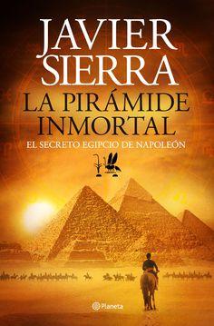 """""""La pirámide Inmortal"""", de Javier Sierra. Edición firmada por el autor. Oferta válida hasta fin de existencias."""