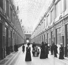 catherineaddington:  The Passage, St. Petersburg, 1902