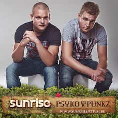 This #summer ,they'll be slamming their latest tracks at #sunrisefestival ! @psykopunkz