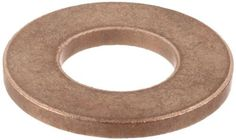 """Bunting Bearings TT1204 5/8"""" Bore x 1 1/4"""" OD x 1/16"""" Thickness Powdered Metal SAE 841 Thrust Washers by Bunting Bearings. $1.04. Bunting Bearings offers a complete line of stock plain bearings, flange bearings and washers made of P/M bronze. Bunting sintered bronze stock bearings have long conformed to ASTM chemical and physical properties, and are the first to include all ASTM standard sizes to ASTM recommended dimensions and tolerances. After forming, sintering and sizing, ..."""