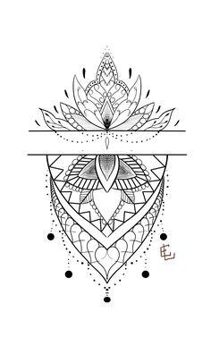 dibujo de encaje Informations About skizze spitze ; dibujo de encaje Pin You can eas Tattoo Mandala Feminina, Dotwork Tattoo Mandala, Geometric Mandala Tattoo, Mandala Tattoo Design, Baby Tattoos, Leg Tattoos, Arm Band Tattoo, Body Art Tattoos, Sleeve Tattoos