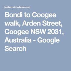 Bondi to Coogee walk, Arden Street, Coogee NSW 2031, Australia - Google Search