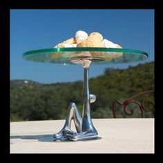 Look at this Carrol Boyes cake stand! Carroll Boyes, Beautiful Cakes, Fine Dining, Birthday Wishes, Table Settings, Stainless Steel, Cake Stands, Tableware, Presentation