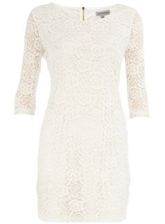 Cream lace layer dress - Alice & You - Brands at DP - Dresses - Dorothy Perkins