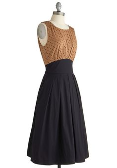 The Polite Pairing Dress in Dots, #ModCloth Emily and Fin size small. New with tags. Limited!