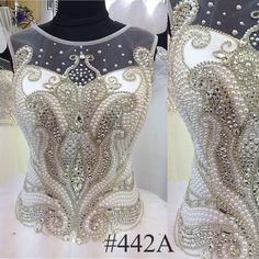 Gorgeous Beaded Ball Gown Wedding Dress !! We do wholesale and custom made
