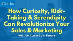 How Curiosity, Risk-Taking, and Serendipity Can Revolutionize Sales and . Social Networks, Social Media, Technological Change, Business Sales, Growth Hacking, Marketing Automation, Take Risks, Cloud Based, Sales And Marketing