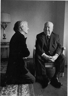 Andy Warhol e Alfred Hitchcock