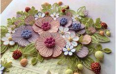 Quilled Flowers and Berries - by: Anastasiya Bertova