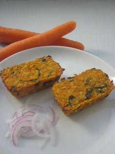 Petites terrines de carottes, noix de cajou et coriandre