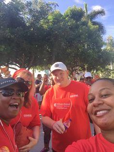 AHA Heart Walk 2016:  Boca Raton team members