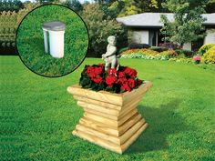 Landscape Timber Well Cover from houseplansandmore.com
