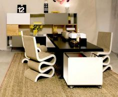 Brighten up your office space! Add a bit of warmth to your office and make your workspace more livable!  http://www.naturalhomerugs.com/blog/Finding-Area-Rugs-for-the-Office