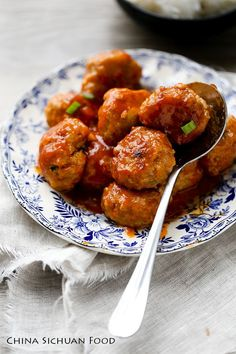 Chinese sweet and sour balls
