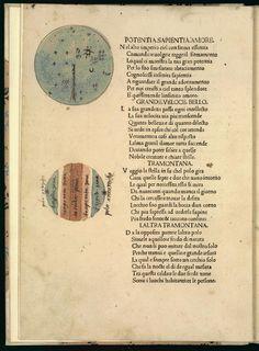 Dati, Gregorio, 1362-1436.  Main titleLa sfera. Published/Created[Venice : Gabriele di Pietro, ca. 1475] Image 10 of 52, Celestial Sphere and Earth