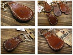 RRL vintage leather key chain