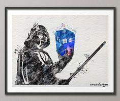 Darth Vader Tardis Wall Poster //Price: $16.99 & FREE Shipping //     #thewalkingdead #walkingdead #thewalkingdeadfamily #gameofthrones #gameofthronesfamily #supernatural #vikings #strangerthings #thebigbangtheory #theflash #sherlock #doctorwho #series #bestseries #shop #tvshow #favoriteseries