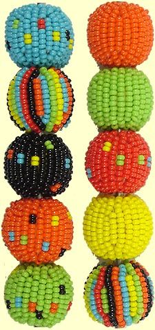 Jabulani beads
