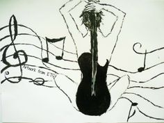 The music is in me. #Music #GuitarArt