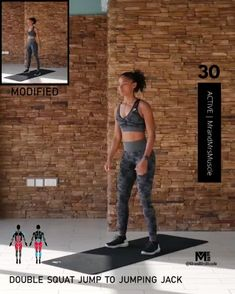 A full body HIIT workout — no equipment required Improve heart health, increase fat loss and strengthen and tone your muscles . Fitness Workouts, Full Body Hiit Workout, Gym Workout Videos, Fitness Workout For Women, Body Fitness, Butt Workout, Physical Fitness, At Home Workouts, Entrainement Full Body