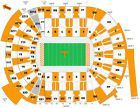 Ticket  2 Lower Level Tennessee Volunteer vs Florida Gators Football Tickets 15 Yd Line #deals_us