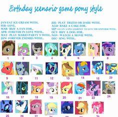 Bake a cake for Lyra! (My little pony birthday scenario game)