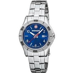 Wenger Ladies' Platoon Analog Watch - Blue Dial/Stainless Steel Bracelet - product - Product Review