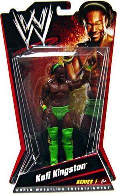 2015 WWE WWF Mattel Xavier Woods Elite Wrestling Figure MIP Series 42 New Day