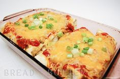 Baked Tilapia Enchiladas