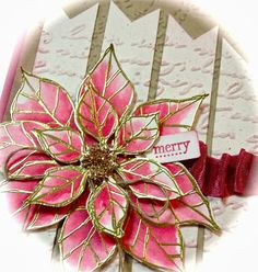 Stampin' Up!® Australia: Ann Craig - distINKtive STAMPING designs: Joyful Christmas with a touch of Vintage Tiny Tags, Christmas Card Crafts, Christmas Ideas, Hand Stamped Cards, Flower Hair Clips, Stamping Up, Homemade Cards, Paper Flowers, Joyful