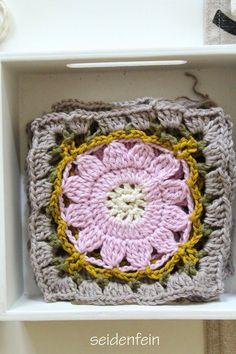 seidenfeins Dekoblog: Blumen - Grannys * DIY * flower grannys