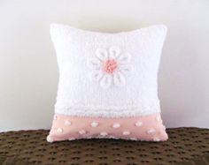 almohada rosa tapa 12 X 12 reclinable Rosa por moreChenilleChateau