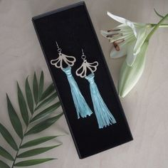 AURORA earrings are ostentatious, but extremely light statement earrings. A pair of earrings only weighs about 5 grams. Statement Earrings, Drop Earrings, Sustainable Fashion, Aurora, Summer Outfits, Pairs, Jewelry, Jewlery, Summer Wear
