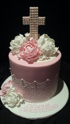 Girls Christening cake Cake Central Sydney