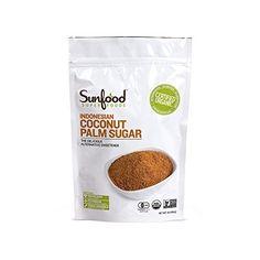 SunFood Coconut Palm Sugar Organic -- 1 lb - http://mygourmetgifts.com/sunfood-coconut-palm-sugar-organic-1-lb/